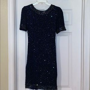 Sequenced/beaded dress